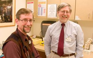 Specialty care doctors in a health center