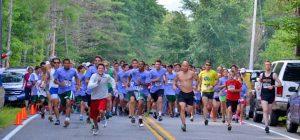 Runners in the Adirondacks