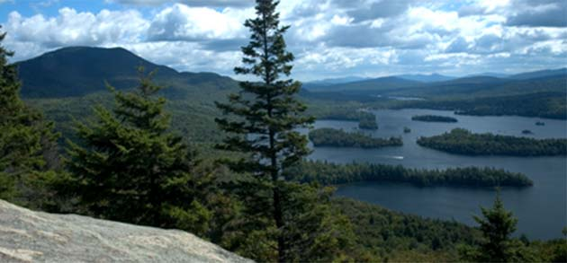 Picture of Lake George and the Adirondacks Region of Upstate NY