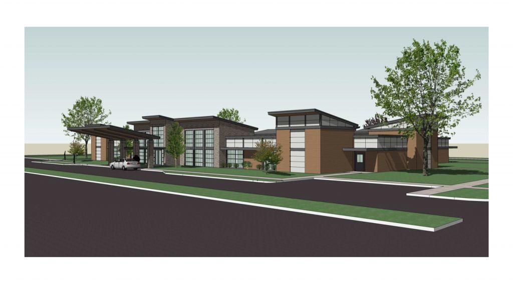Champlain New Center Rendering