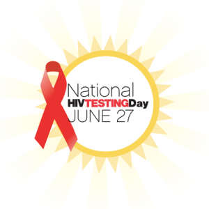 National HIV Testing Day Logo