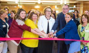 Ribbon cutting for Champlain Family Health