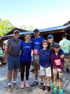 Hudson Headwaters employees and their family at Run for Fun event