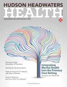 Hudson Headwaters Health, Issue 1 Magazine Cover