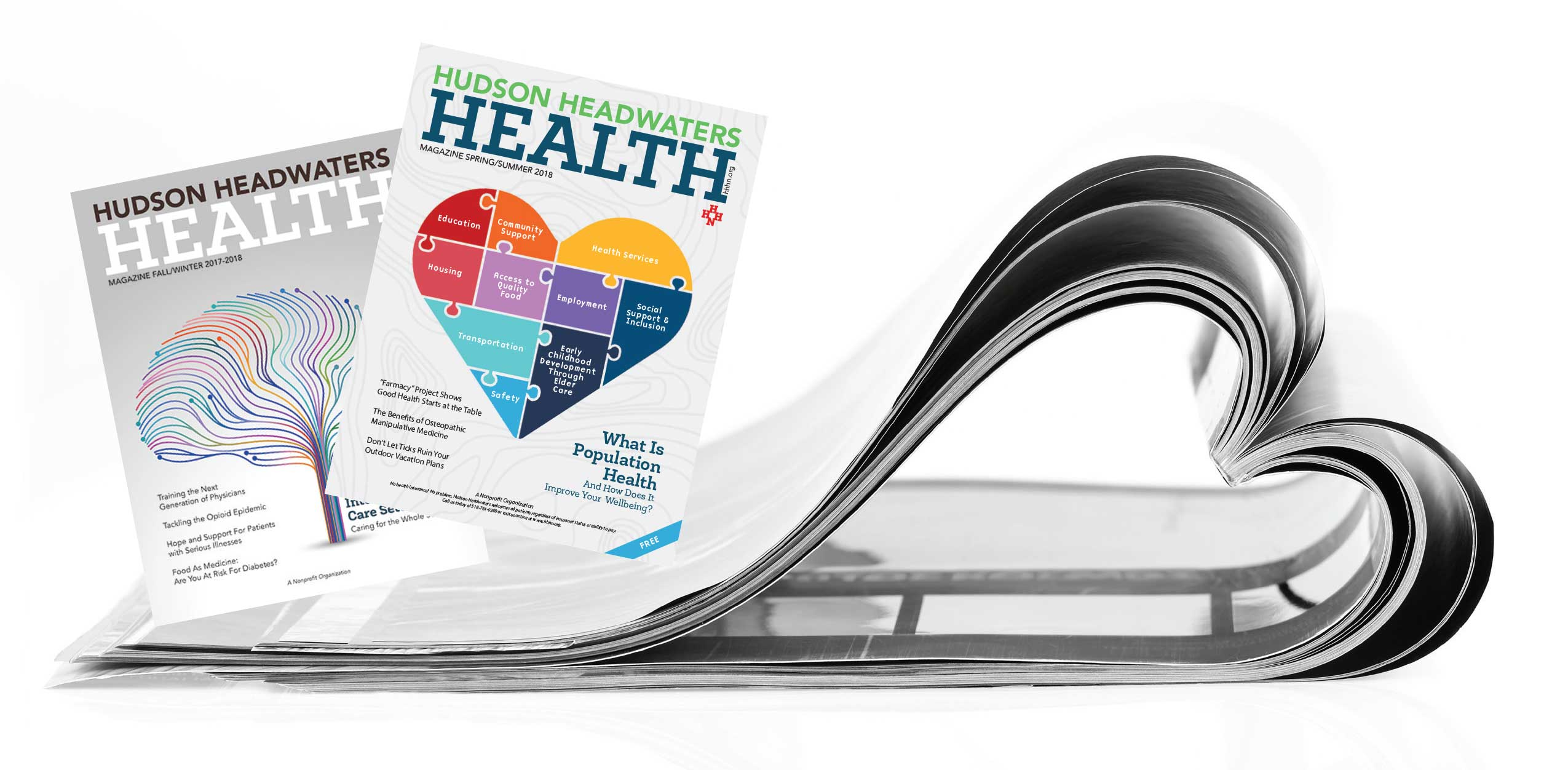 Hudson Headwaters Health Magazine Issues